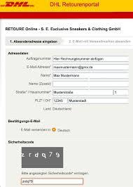 Infos zu adressierung, benachrichtigung, abholcode und. Rucksendung