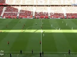 انتهت مباراة إسبانيا أمام البرتغال بالتعادل السلبي اليوم الجمعة على أرضية واندا متروبوليتانو في مدريد بحضور الجماهير للمرة الأولى في العاصمة منذ تفشي فيروس. Mmmxfl1hat9zqm