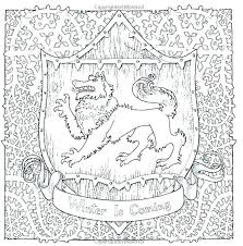 Throne Of Glass Coloring Book Pages Game Of Thrones Coloring Book