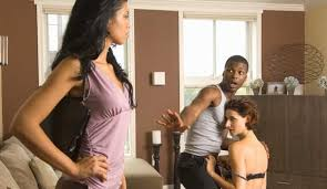 Image result for IMages on black cheating couples
