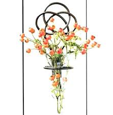 wall sconce for flowers fl wall sconces sconces flower wall sconce creative vase sconce iron knot wall sconce for flowers