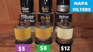 Napa Silver Vs Napa Gold Vs Napa Platinum Oil Filters