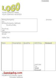 Invoice Template For Hotel Bill Format Doc Beautiful Sample Cash ...