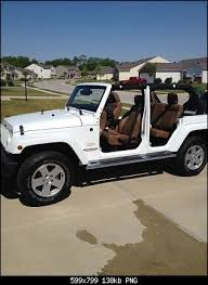 white jeep with no doors will be my definite summer toy once i get married