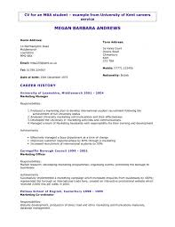 3 Column Resume Template Word Awesome Master Resume Resume