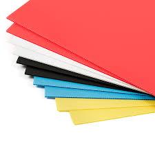 corrugated plastic sheets 500 x 500mm