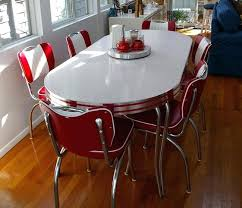 red kitchen table set retro kitchen table and chairs chair design ideas red retro kitchen table