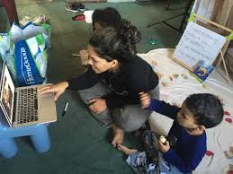 Ms. Ashley's Virtual Classroom brings kids all over the world together