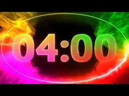 Timer 4 Min 4 Min Countdown Timer V 711 Timer With Sound Music 4k