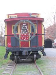 Train Christmas lights - Picture of Denton Farm Park, Denton ...