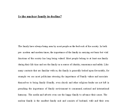 is the nuclear family in decline a level sociology marked by document image preview