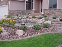 Small Picture Small Front Yard Rock Garden Ideas Design Landscaping Gallery Good
