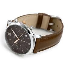 フォッシル watch men chronograph leather belt fs5408 fossil noy thoraneutra clock