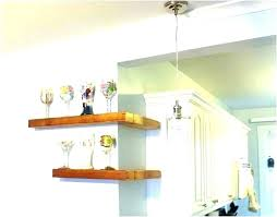 ceiling hanging shelves glass from kitchen shelf cabinets shelving building garage