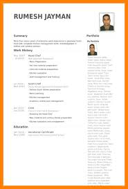 Chef Cv Template 9 Chef Cv Templates Weekly Template