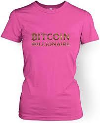 Bitcoin cash logo tee (dark). Amazon Com Bitcoin Millionaire Women S T Shirt Clothing