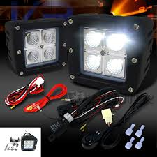 off road light wiring harness solidfonts 23 99 spot flood led hid work driving light wiring loom off road light wiring