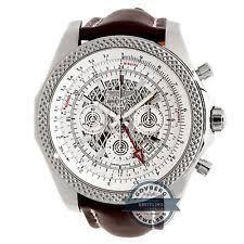 breitling bentley wristwatches breitling bentley 04 gmt ab043112 g774 auto 49mm steel mens strap watch chrono