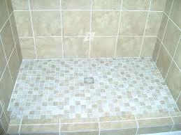 Shower Floor Mosaic Tiles Pebble Tile Ideas