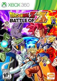 dragon ball z battle of z games