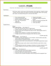 The Perfect Resume Format Fascinating Example Of A Perfect Resumes The Resume Format For Freshers Pdf