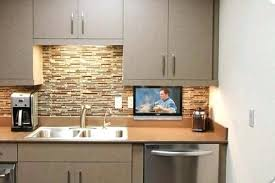 Tv In Kitchen Cabinet Under Cabinet For Kitchen Marvellous 3 Mount