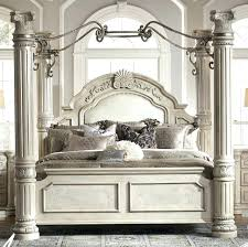 White Canopy Bed Queen White King Canopy Bed Large Size Of Bedroom ...