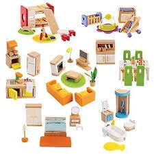 dolls furniture set. Complete Wood Dollhouse Furniture Set | OneStepAhead.com DIY Pinterest Sets, And Sets Dolls R