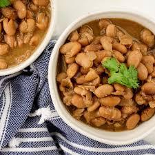 simple crock pot pinto beans slender