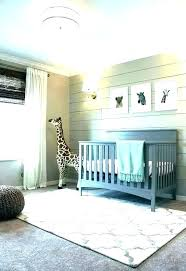blue nursery rug baby rugs area re neutral for best girl image 0