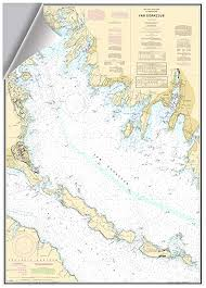 Burrard Inlet Depth Chart Nautical Charts For Sale Only 4 Left At 70