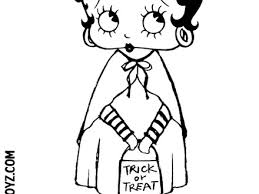 41 Betty Boop Printable Coloring Pages Betty Boop Coloring Pages 2