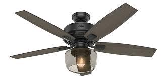 Hunter Fan Replacement Light Bulbs Bennett With Light 52 Inch Ceiling Fan Hunter Fan