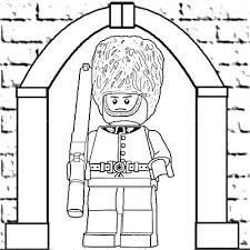 lets coloring book printable men pages lego figure page colouring people drawing
