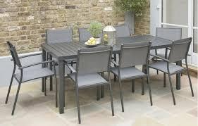 havana patio dining set 8 seats