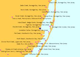 Double Creek Barnegat Bay New Jersey Tide Chart