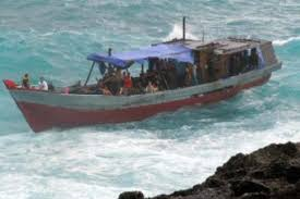 Image result for photo deaths boat Christmas Island