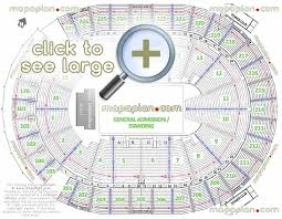 Forum Seating Chart With Seat Numbers The Forum Inglewood