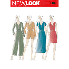 Jumpsuit Pattern Awesome New Look 48 Misses' Jumpsuit And Dress In Two Lengths