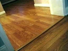wood transition tile floor threshold to door strips laminate strip between bathroom and hall q hardwood