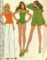 Simplicity Patterns Vintage New 48s Original Vintage Simplicity Pattern 48 Rare Bathing Suit
