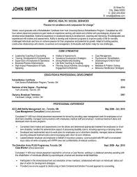 A Professional Resume Template For A Case Management