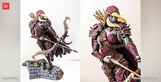<b>Sylvanas Windrunner</b> STL files of 3D <b>printing</b> model | Gambody ...