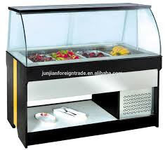 Counter Fridge Sales Well Salad Bar Bar Counter Fridge Salad Refrigerated
