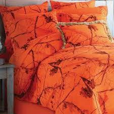 realtree camo sheet sets king size camo blaze orange sheet set camo