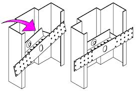 door jamb diagram. Hollow Metal Frame Anchors Door Jamb Diagram 4