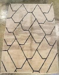 black and white moroccan rug diamond black white rug wool handmade black and white moroccan bath black and white moroccan rug