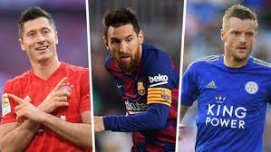 European Goal Scoring Charts Golden Shoe 2019 20 Messi Lewandowski Europes Top