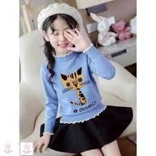 Đồ len cho bé gái 9 tuổi (3-10 tuổi) ️ Quần áo bé gái 6 tuổi ️ Thời trang  bé gái 5 tuổi ️ tại Hà Nội
