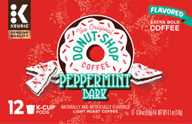 Coffee pods are great when you want coffee just for yourself and want to avoid making a huge batch. Qfc The Original Donut Shop Coffee Peppermint Bark Light Roast Coffee K Cups Pods 12 Ct